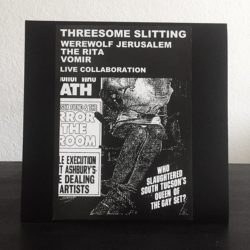 WEREWOLF JERUSALEM / THE RITA / VOMIR – Threesome Slitting LP