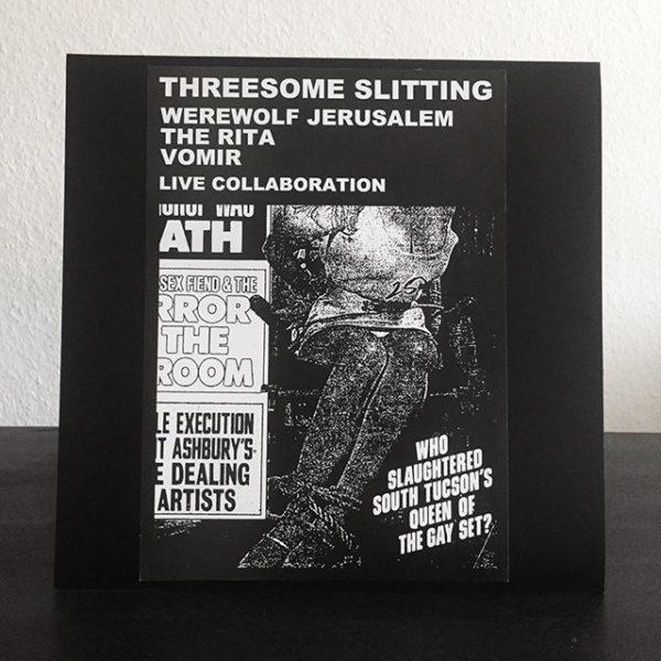 WEREWOLF JERUSALEM / THE RITA / VOMIR – Threesome Slitting LP