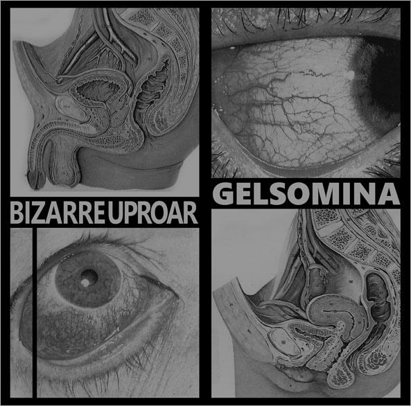 BIZARRE UPROAR / GELSOMINA - Älä Tee Huorin LP