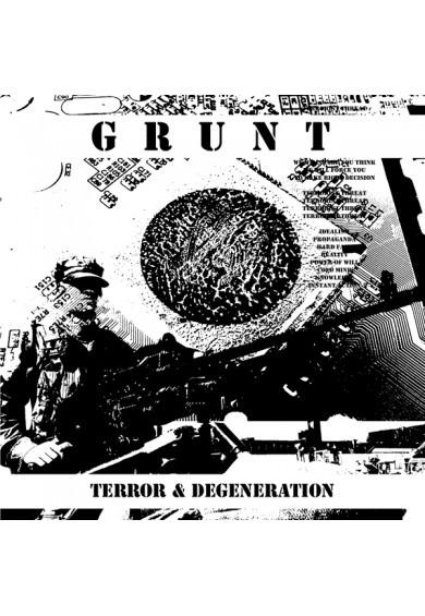 GRUNT – Terror & Degeneration CD