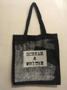 SCREAM & WRITHE Tote Bag
