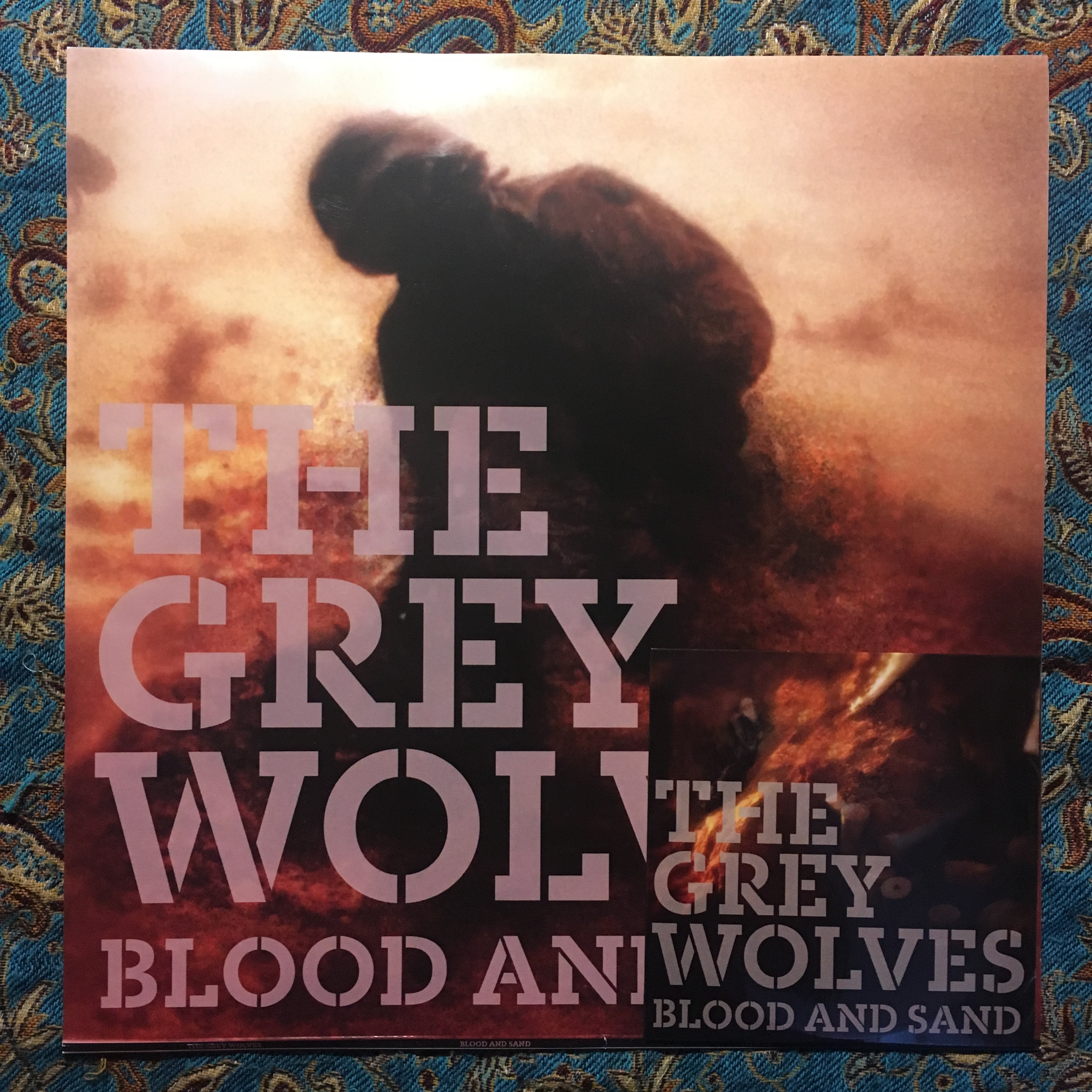 THE GREY WOLVES – Blood and Sand LP+CD