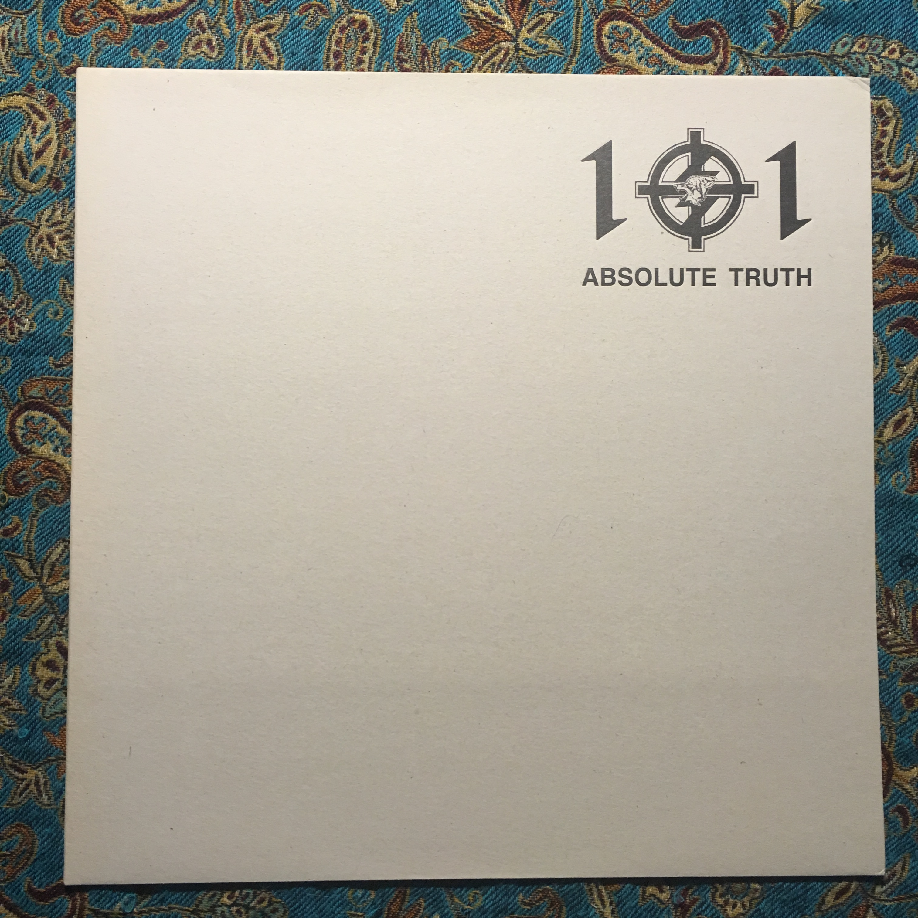"""THE GREY WOLVES / GENOCIDE ORGAN – Absolute Truth 12"""""""
