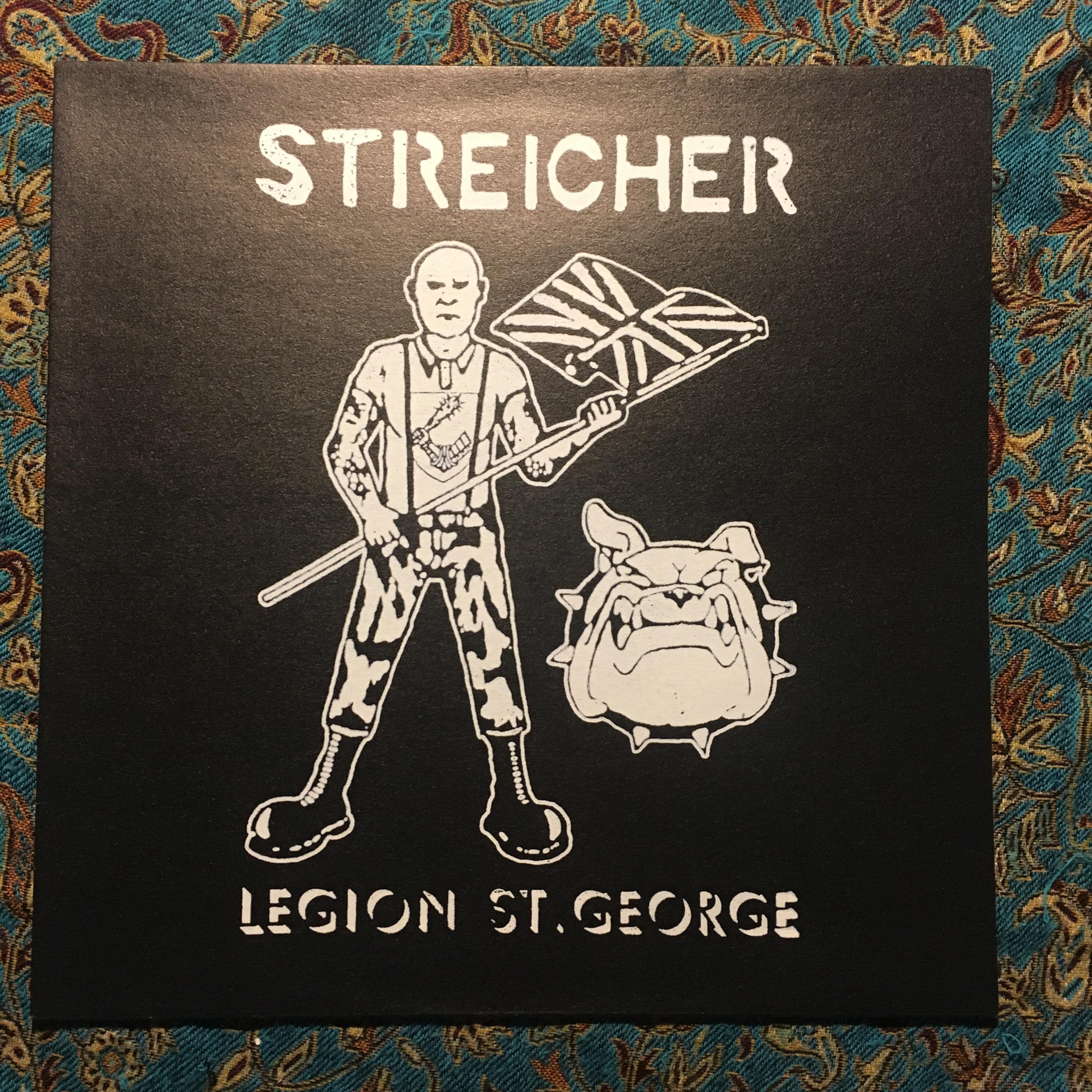 STREICHER – Legion St. George LP (VG+/NM)