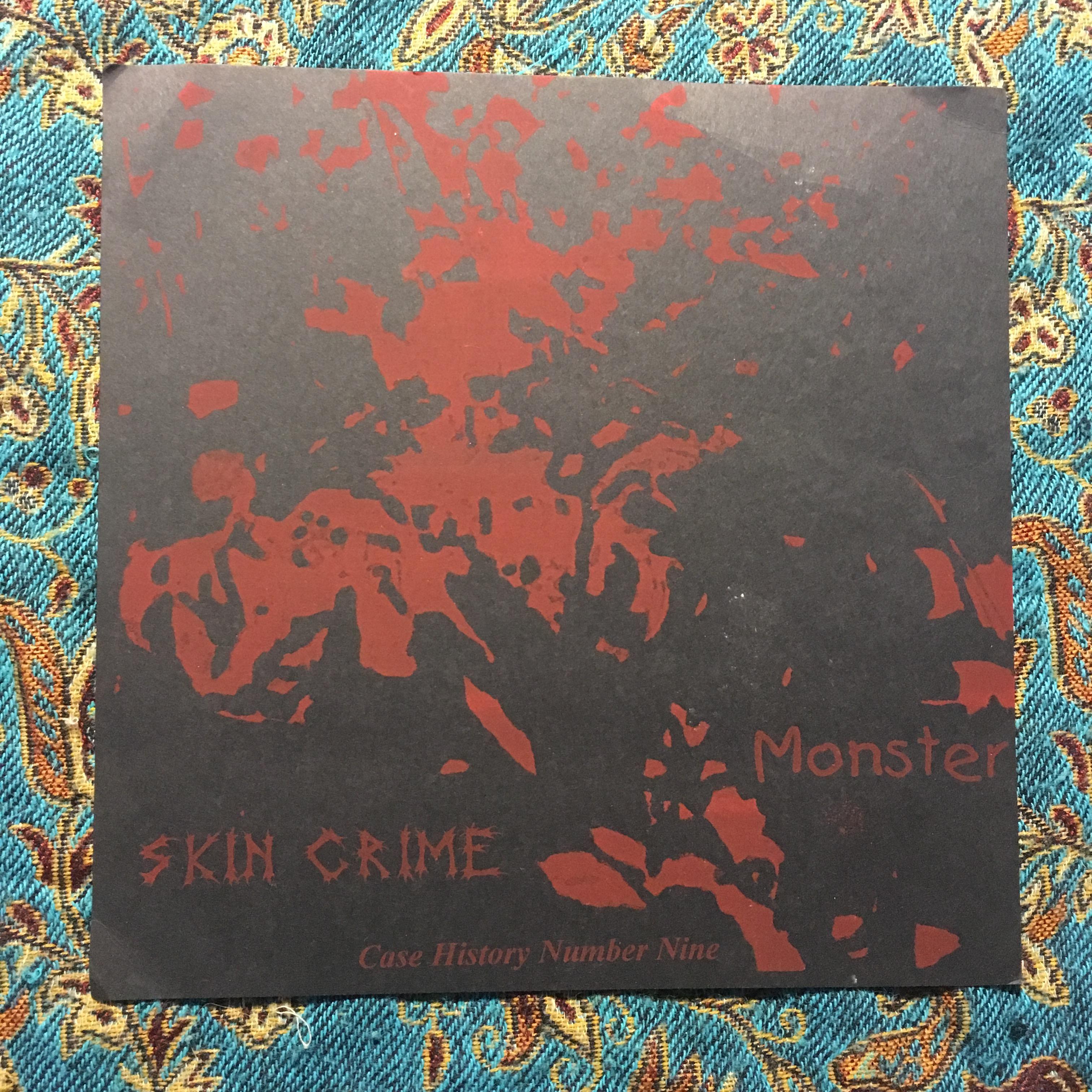 """SKIN CRIME – Monster 7"""" (Self Abuse Murder Series) (VG+/NM)"""