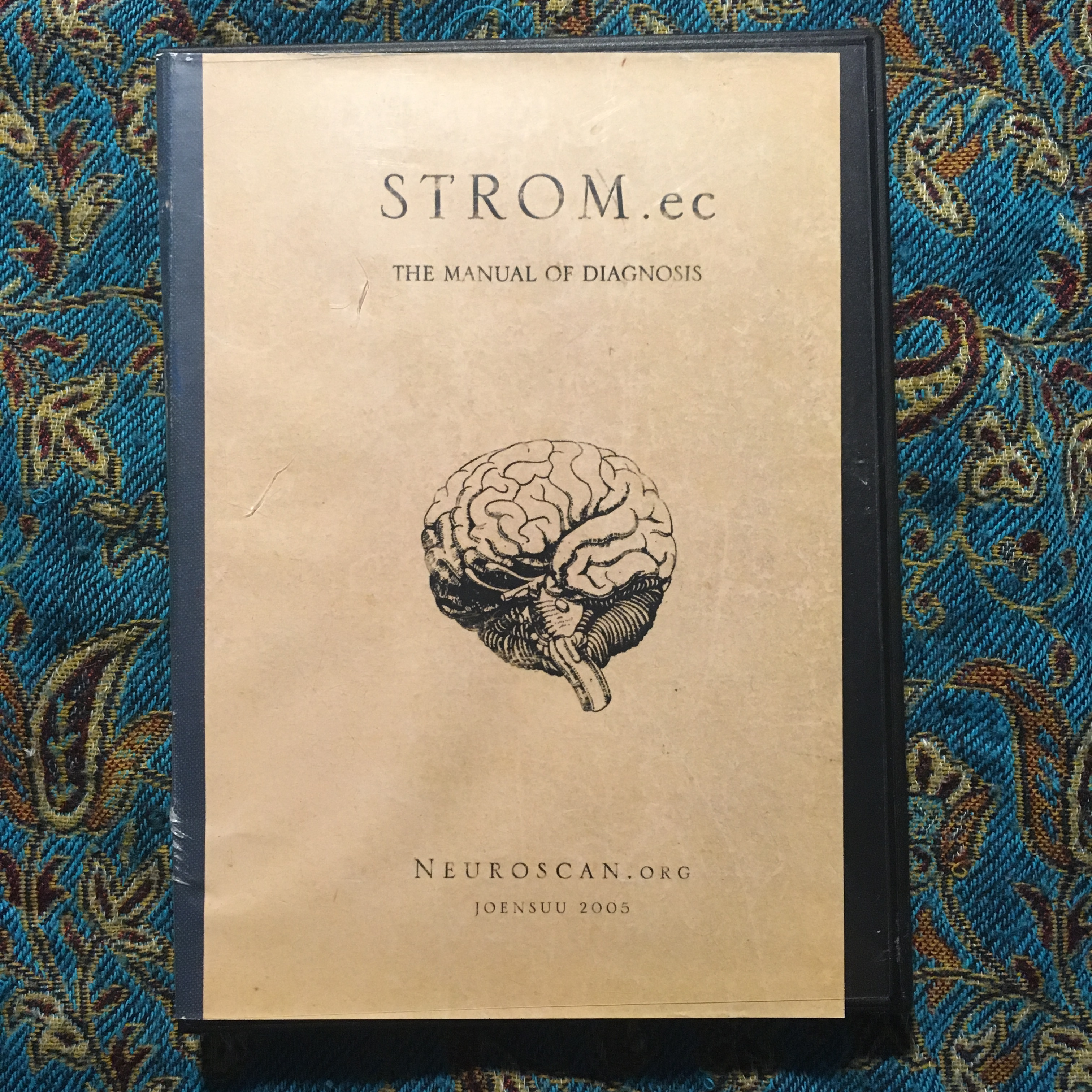 STROM.EC – The Manual of Diagnosis CD (VG+/VG+)